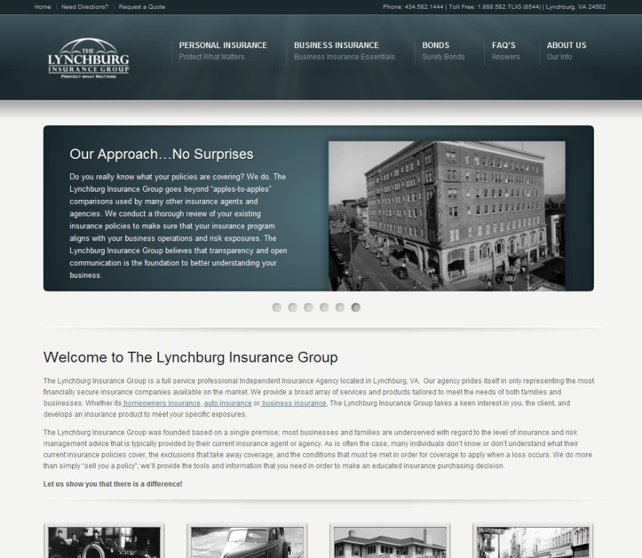A great web design by Digital Immersions Inc., Washington DC, DC: