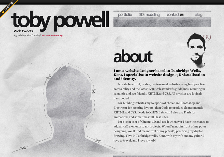 A great web design by toby-powell.co.uk, Tunbridge Wells, United Kingdom: