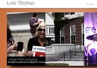 A great web design by Luke Thomas, Bangor, ME: