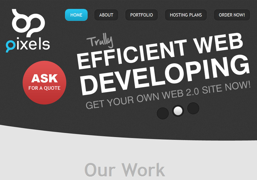 A great web design by 67Pixels, Athens, Greece: