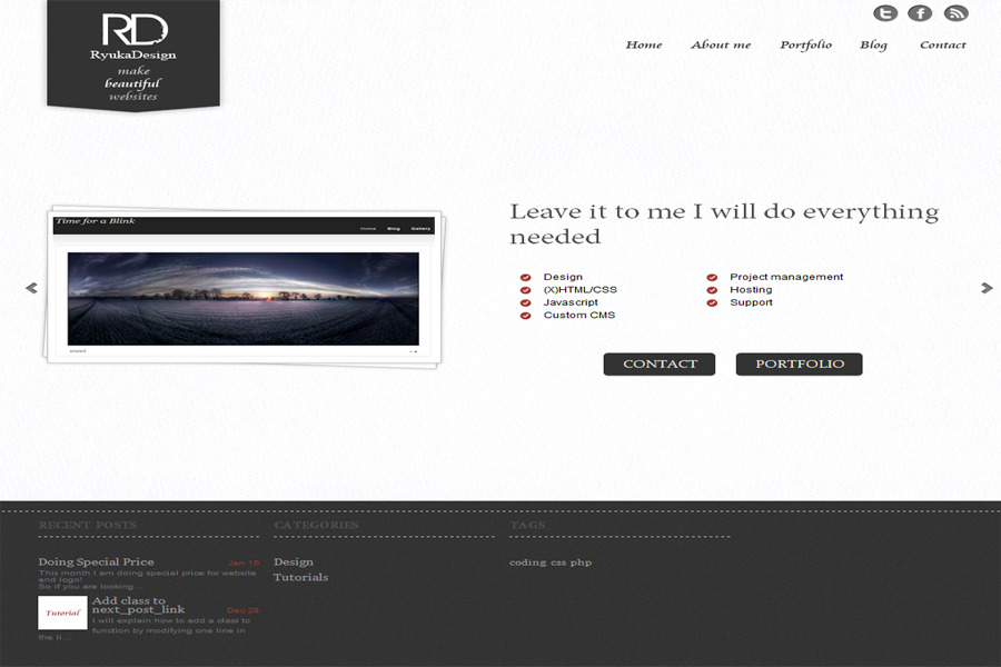 A great web design by Ryuka - Design, Kyoto, Japan: