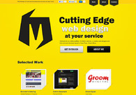 A great web design by Marlin Jackson, Cape Town, South Africa: