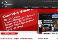 A great web design by 360 PSG, Buffalo, NY: