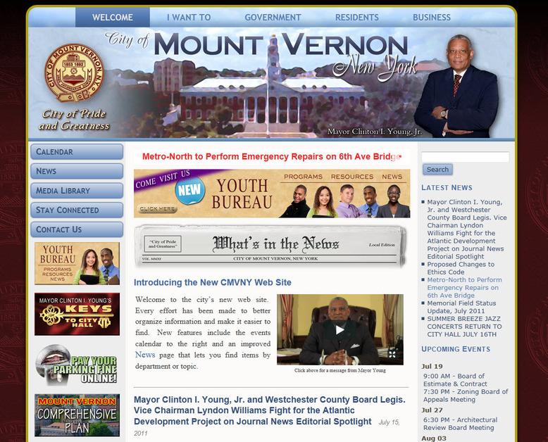 A great web design by JFV Associates, Inc., New York, NY: