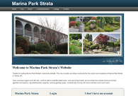 A great web design by eStrata - Condo Websites, Victoria, Canada: