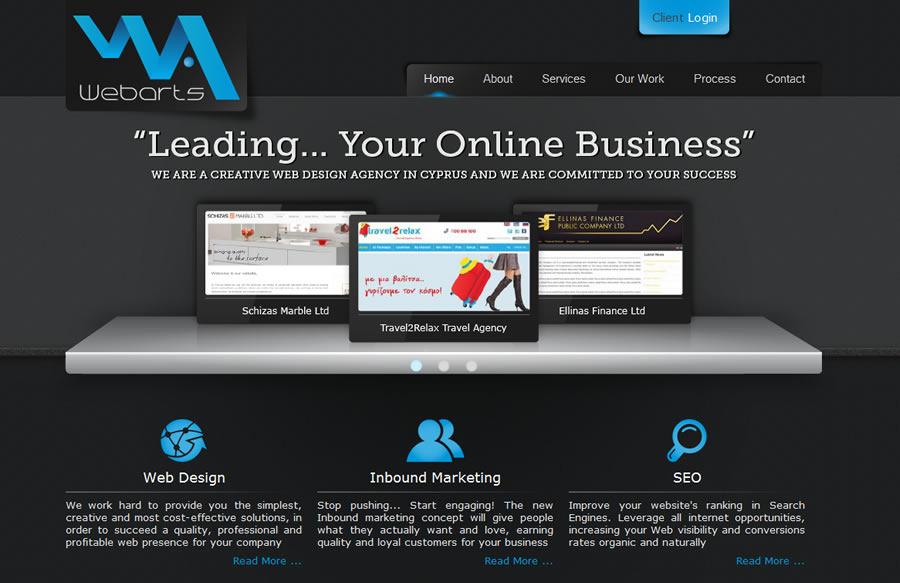 A great web design by Webarts Ltd, Nicosia, Cyprus: