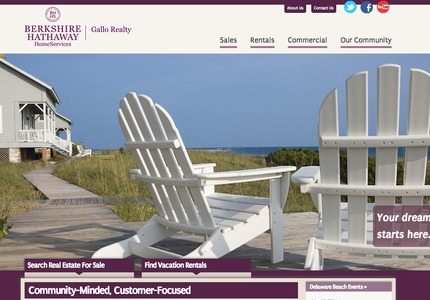 A great web design by Inclind: Responsive Website, Marketing Website , Real Estate , Drupal