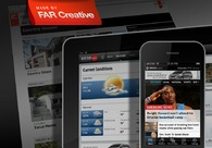 A great web design by FAR Creative, New York, NY: