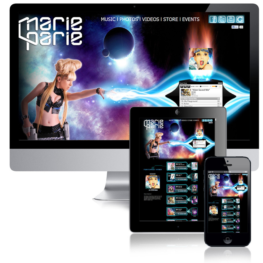 A great web design by Solostudios.net, Los Angeles, CA: Responsive Website, Portfolio , Wordpress