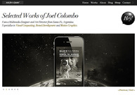 A great web design by Joel Colombo, Santa Fe, Argentina: