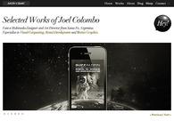 A great web design by Joel Colombo, Santa Fe, Argentina: