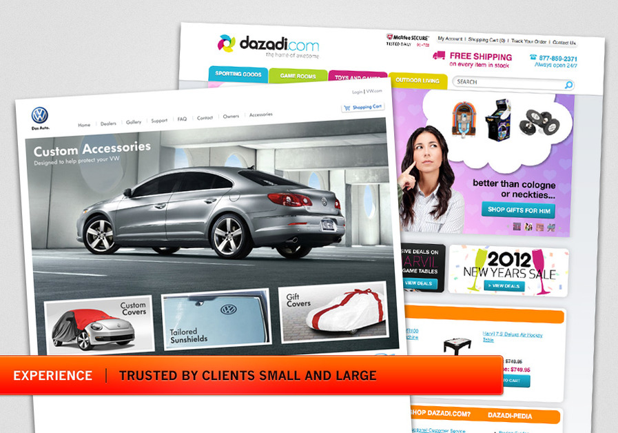 A great web design by Pixelated Arts, Los Angeles, CA: