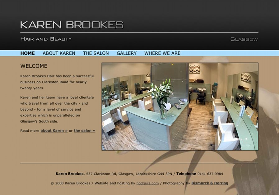 A great web design by hodgers.com, Glasgow, United Kingdom: