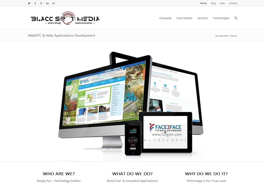 A great web design by Blacc Spot Media, Inc., Atlanta, GA: Responsive Website, Web Application , Technology , Wordpress