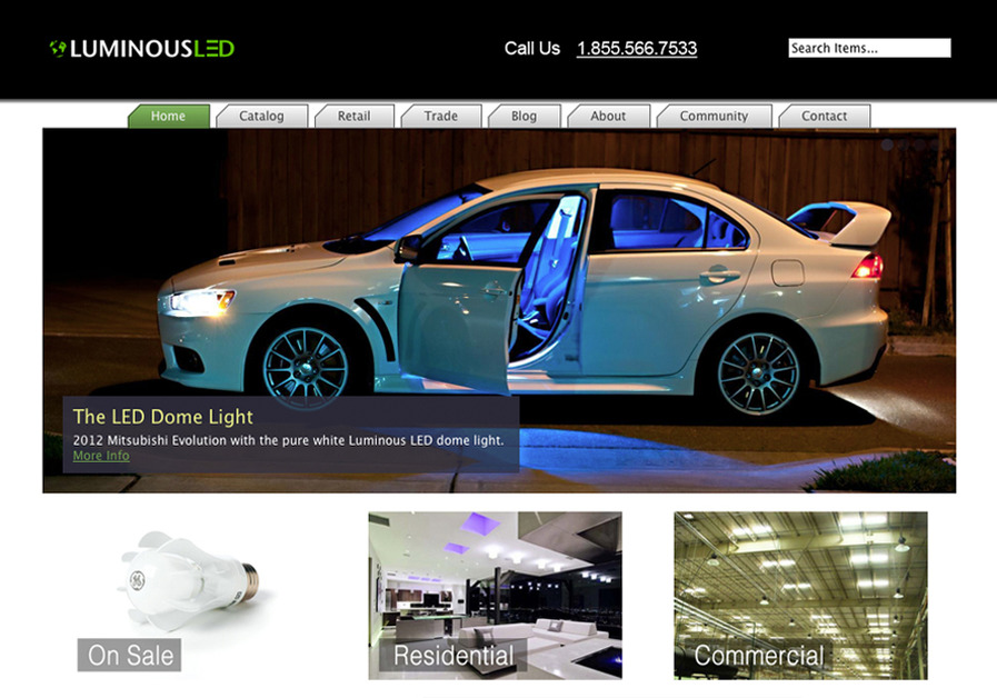 A great web design by Bryndustries, San Francisco, CA: