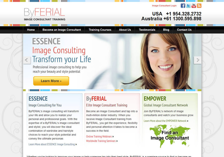 A great web design by Radical Webs Inc, Fort Lauderdale, FL: