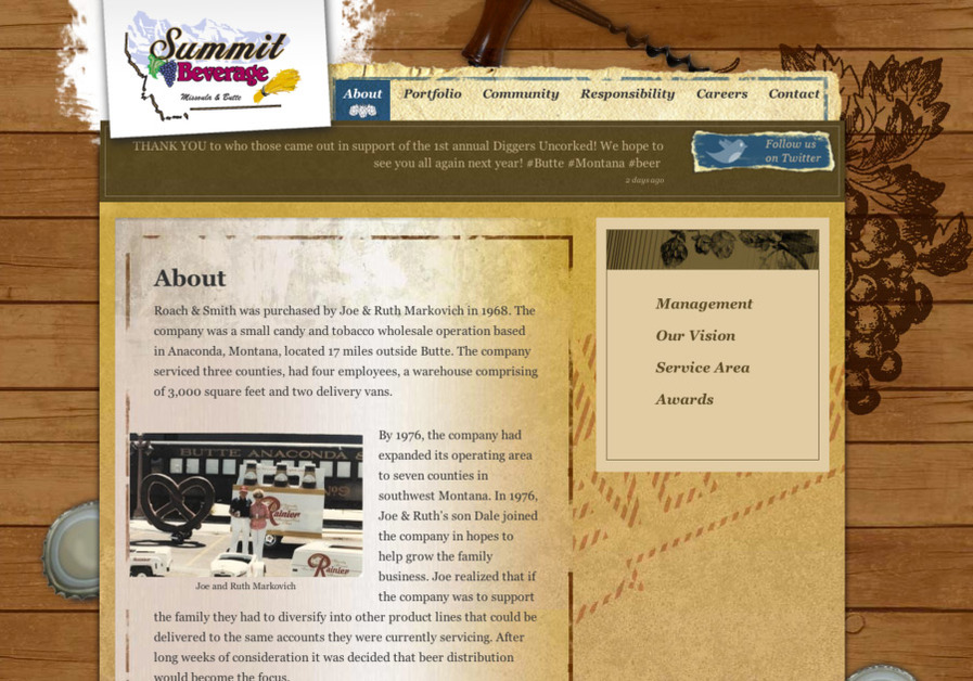 A great web design by Gecko Designs, Missoula, MT: