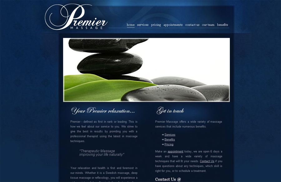 A great web design by Second Floor Solutions, Minneapolis, MN: