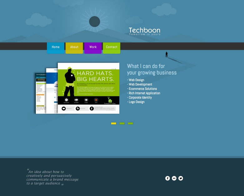 A great web design by Techboon, Dhaka, Bangladesh: