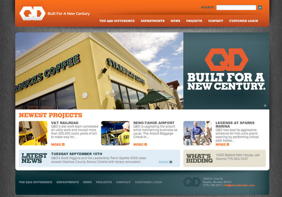 A great web design by Octane BrandLab, Reno, NV: