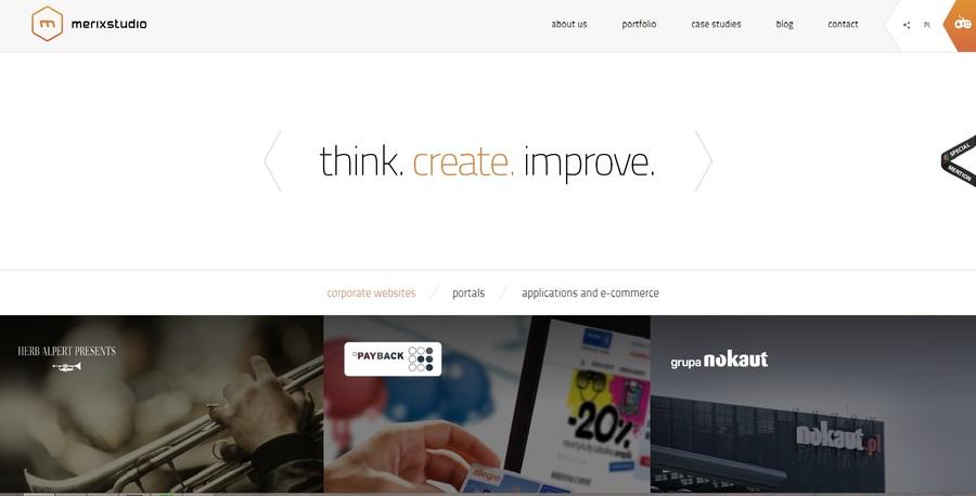 A great web design by merixstudio, Poznan, Poland: