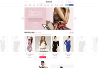 A great web design by Tom Gebala, Cracow, Poland: Fashion