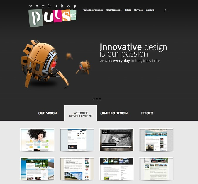 A great web design by PulseWorkshop, Santo Domingo Cabarete, Dominican Republic: