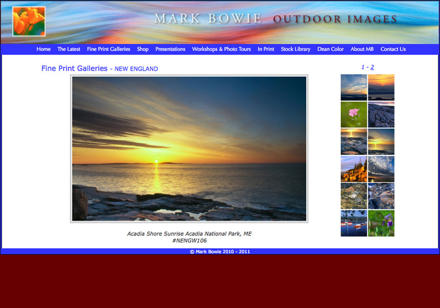 A great web design by DoorhingeDesignWebcrafting, Lee, MA: