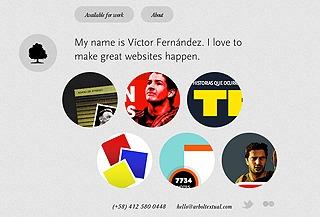 A great web design by Víctor Fernández, Ciudad de Buenos Aires, Argentina: