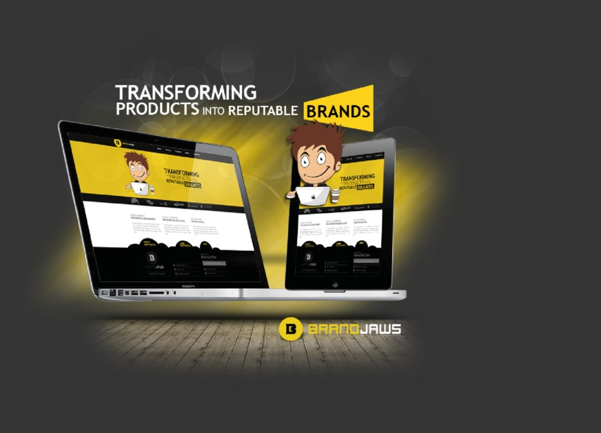 A great web design by BrandJaws, Mississauga, Canada: