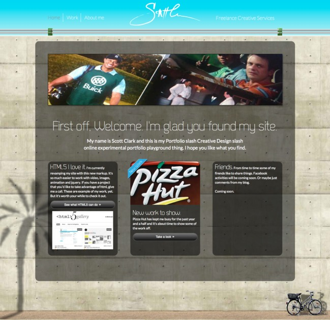 A great web design by Scott Clark Studio, Atlanta, GA: