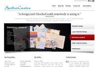 A great web design by Spotless Creation, Bangalore, India: