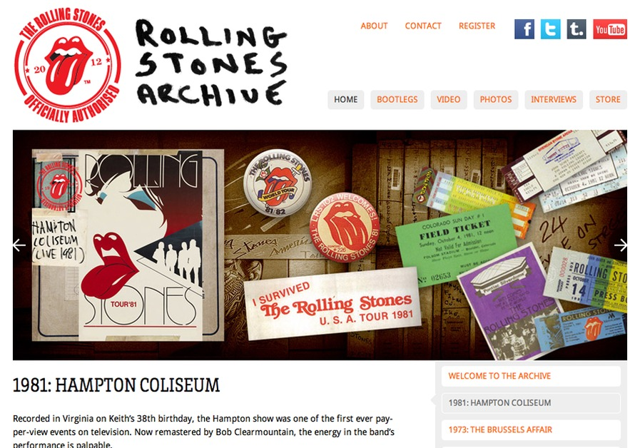 A great web design by James Stiff, Manchester, United Kingdom: