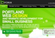 A great web design by Forix LLC: