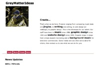 A great web design by GreyMatterIdeas, Tallahassee, FL: