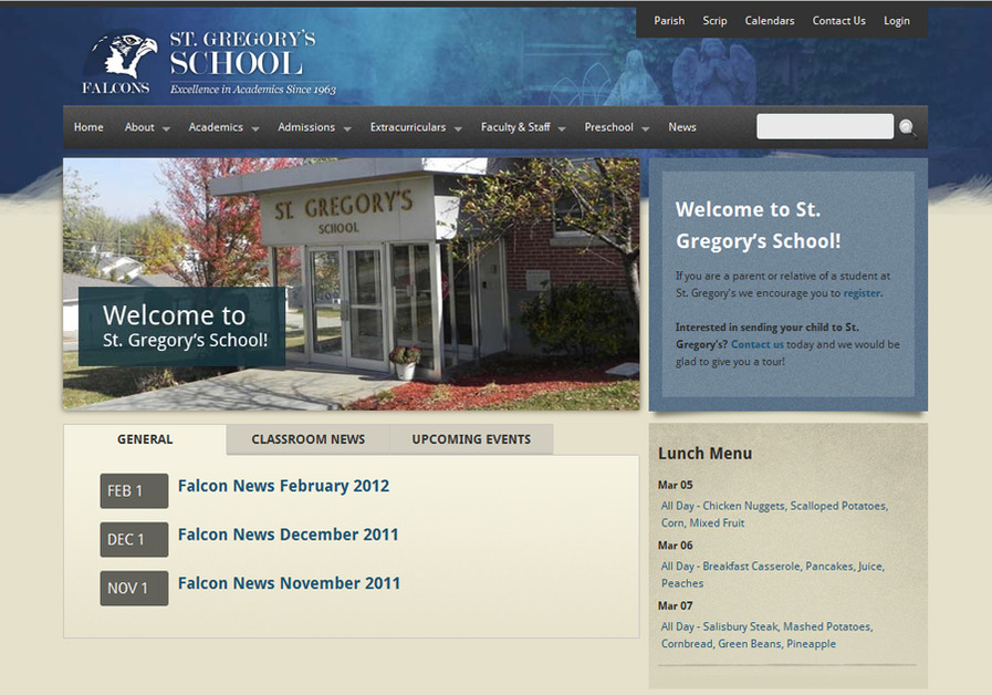 A great web design by JHeflin Design, Saint Joseph, MO: