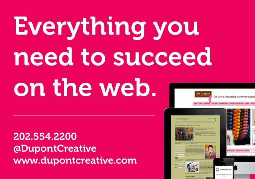 A great web design by Dupont Creative, Washington DC, DC: