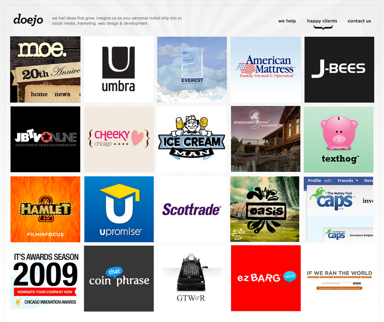 A great web design by Doejo, Toronto, Canada: