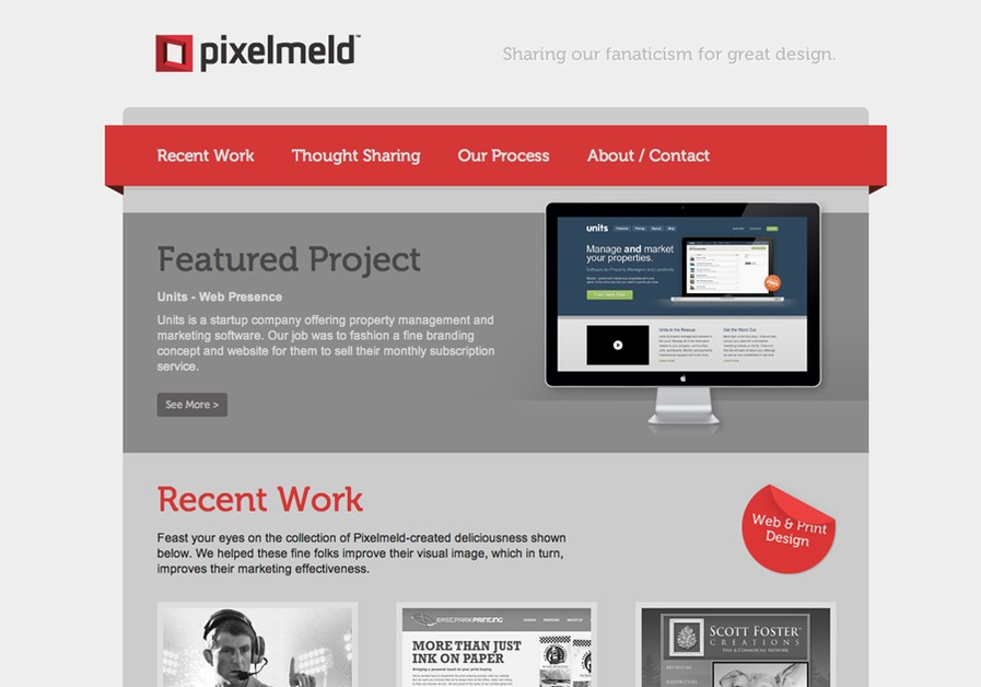 A great web design by Pixelmeld, Greenville, SC: