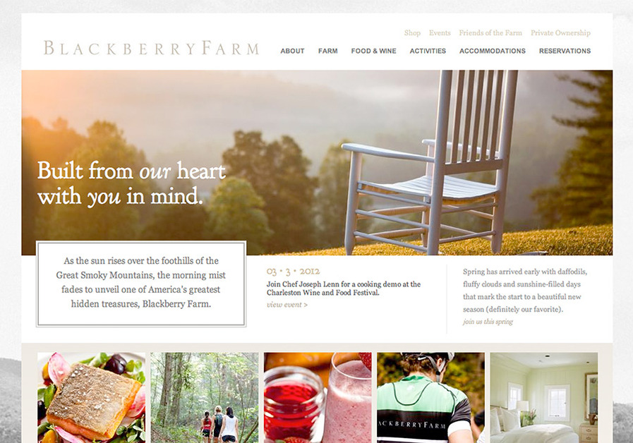 A great web design by Tubatomic, Chattanooga, TN: