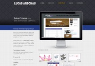 A great web design by Lucas Anschau, Joinville, Brazil: