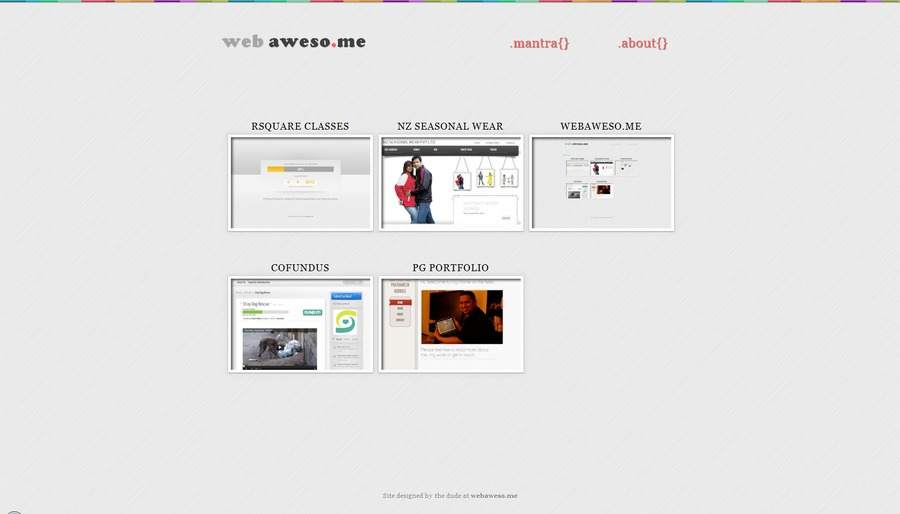 A great web design by webaweso.me, New York, NY: