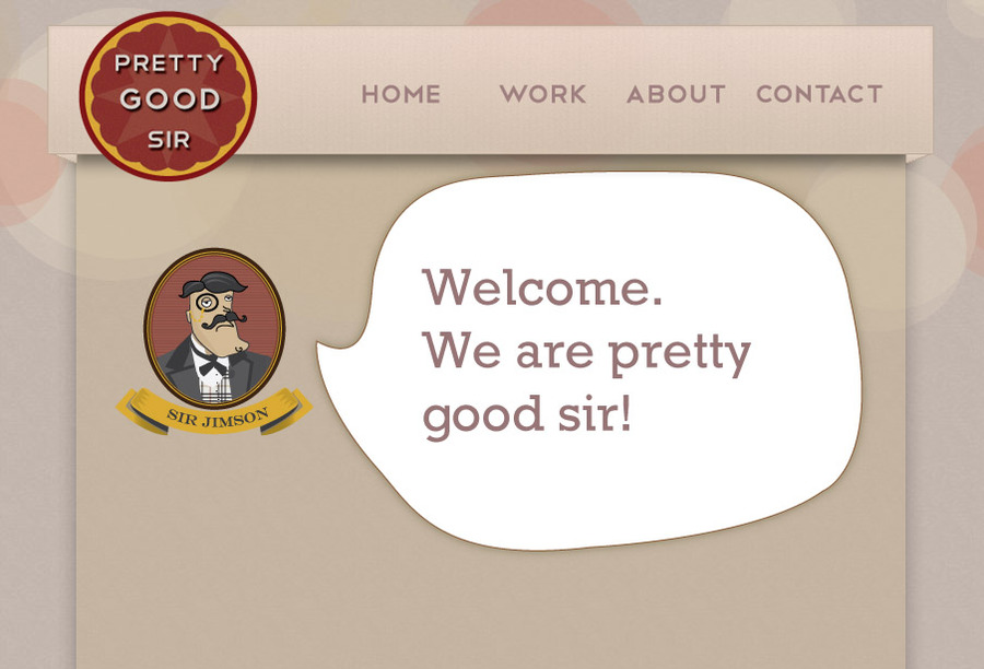 A great web design by Pretty Good Sir, Tuscaloosa, AL: