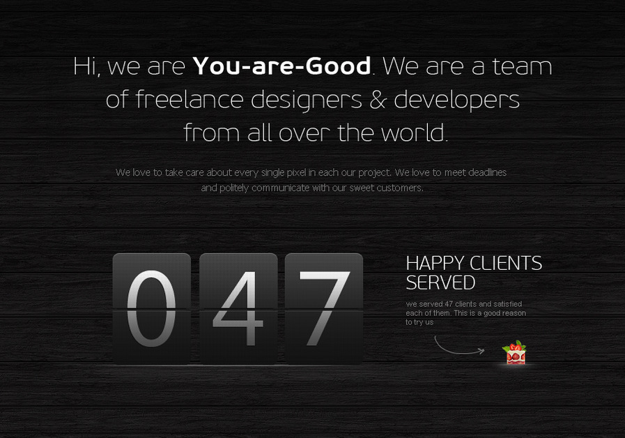 A great web design by You-Are-Good, New York, NY: