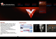 A great web design by Virgo Production SARL, Los Angeles, CA: