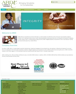 A great web design by Laris Media, Chesapeake, VA: