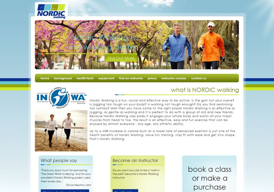 A great web design by Insynch Web Design, Sydney, Australia: