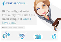 A great web design by Vanessa Colina, Valencia, Venezuela: