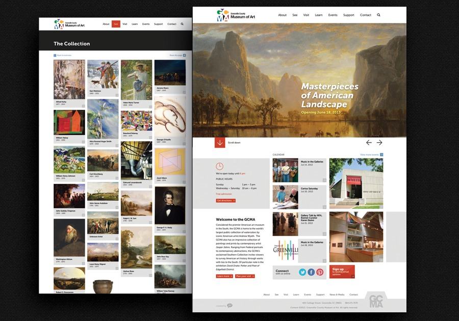 A great web design by Your Creative People, Greenville, SC: Website