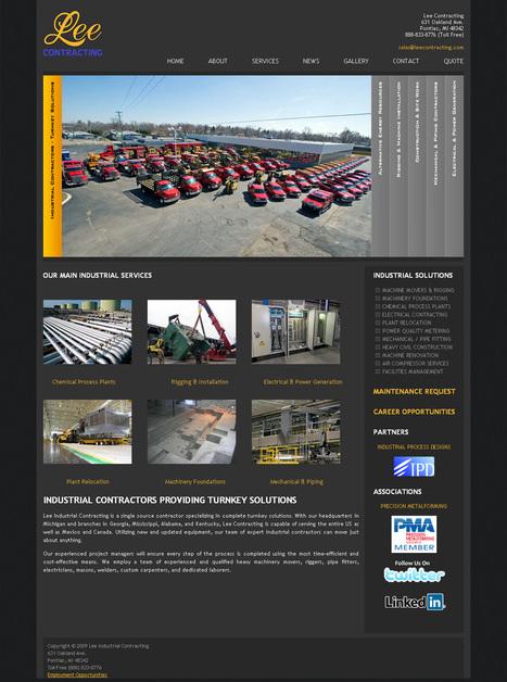 A great web design by Ian Gallardo, Detroit, MI: